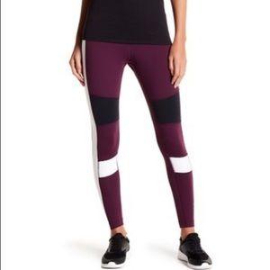 Reebok color block leggings small